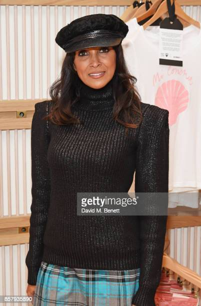 Jackie St Clair attends the launch of the new Lady Garden limited edition tshirts designed by Naomi Campbell Cara Delevingne Poppy Delevingne Chloe...