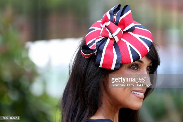 Jackie St Clair during day two of Royal Ascot at Ascot Racecourse