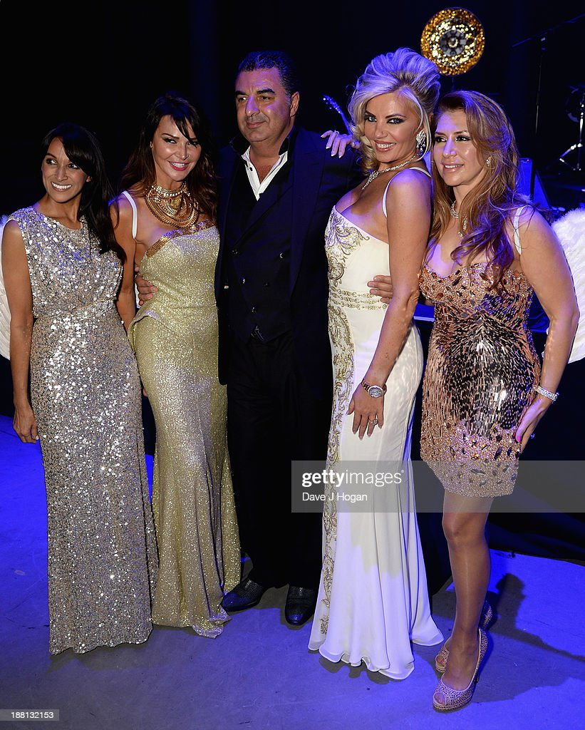 Jackie St Clair, Lizzie Cundy, Kam Babaee, Claire Caudwell and Roya Babaee attend The Global Angel Awards at the Roundhouse on November 15, 2013 in London, England.