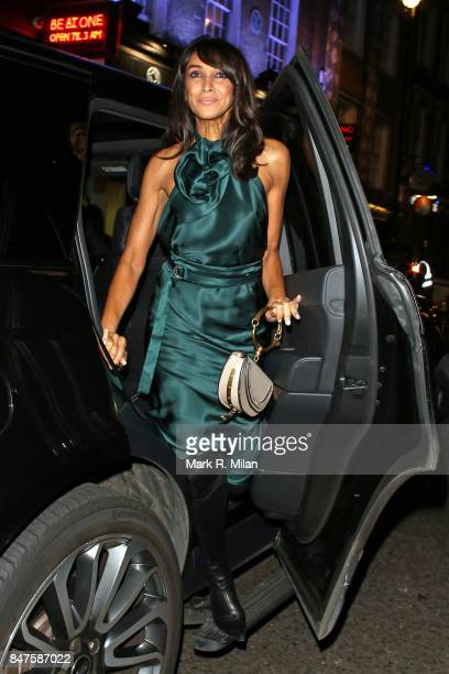 Jackie St Clair seen during London Fashion Week September 2017 on September 15 2017 in London England
