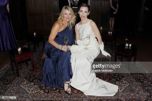 Jackie Stafford and Lori Brightman attend VIP MASKED BALL for Susan G Komen Headlined by Sir Richard Branson Katie Couric Cornelia Guest HM Queen...