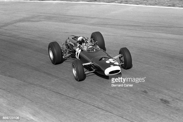 Jackie Stewart BRM P261 Grand Prix of Italy Autodromo Nazionale Monza September 12 1965 Jackie Stewart on his way to his first Formula 1 Grand Prix...