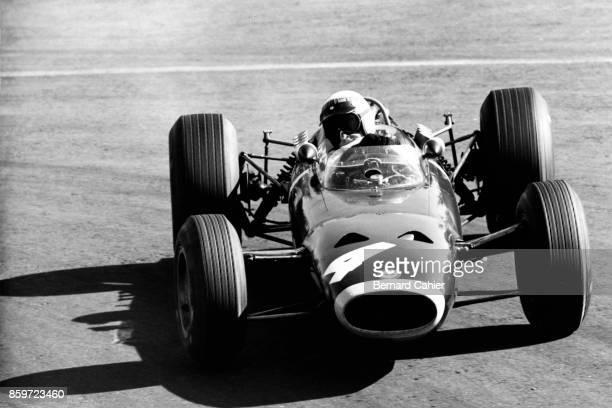 Jackie Stewart BRM P261 Grand Prix of Mexico Autodromo Hermanos Rodriguez Magdalena Mixhuca October 24 1965