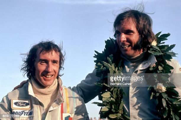 Jackie Stewart Emerson Fittipaldi Grand Prix of Argentina Autodromo Juan y Oscar Galvez Buenos Aires January 28 1973