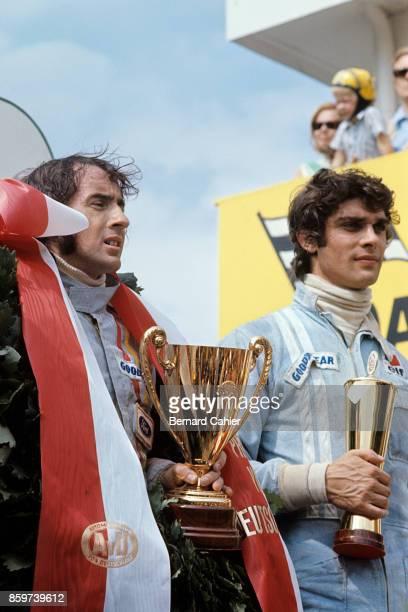 Jackie Stewart Francois Cevert Grand Prix of Germany Nurburgring August 1 1971