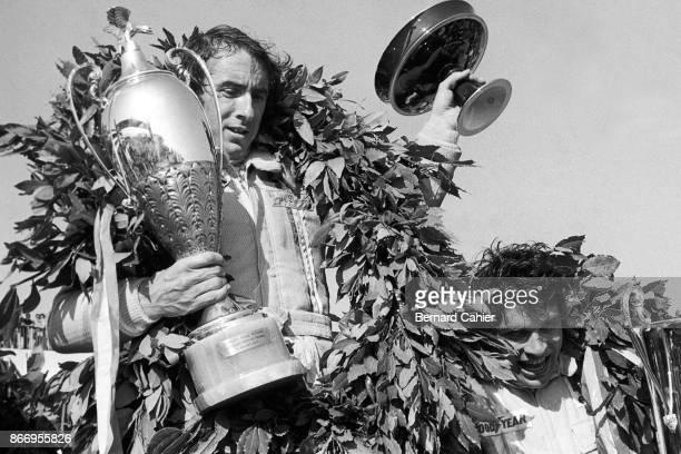 Jackie Stewart François Cevert Grand Prix of France Circuit Paul Ricard 04 July 1971