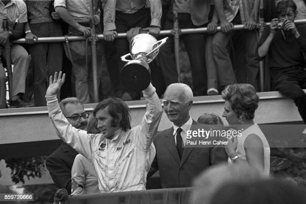 Jackie Stewart Grand Prix of Italy Autodromo Nazionale Monza September 7 1969