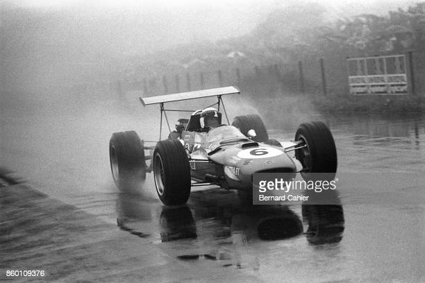 Jackie Stewart MatraFord MS10 Grand Prix of Germany Nurburgring August 4 1968 In rain and fog Jackie Stewarton the way to his greatest victory in the...