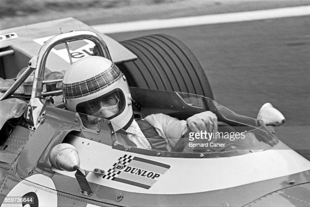 Jackie Stewart MatraFord MS80 Grand Prix of France Charade Circuit July 6 1969