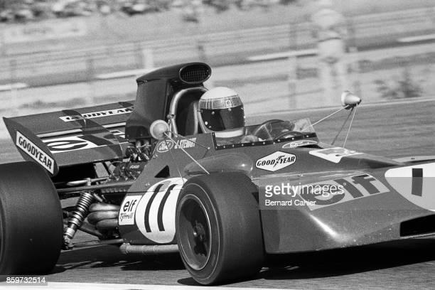 Jackie Stewart TyrrellFord 003 Grand Prix of France Circuit Paul Ricard July 4 1971