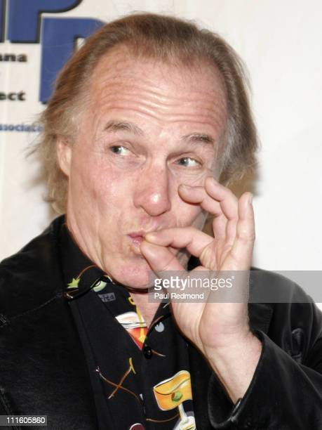Jackie 'The Joke Man' Martling during MPP Marijuana Policy Project Fundraising Party at Playboy Mansion in Los Angeles California United States