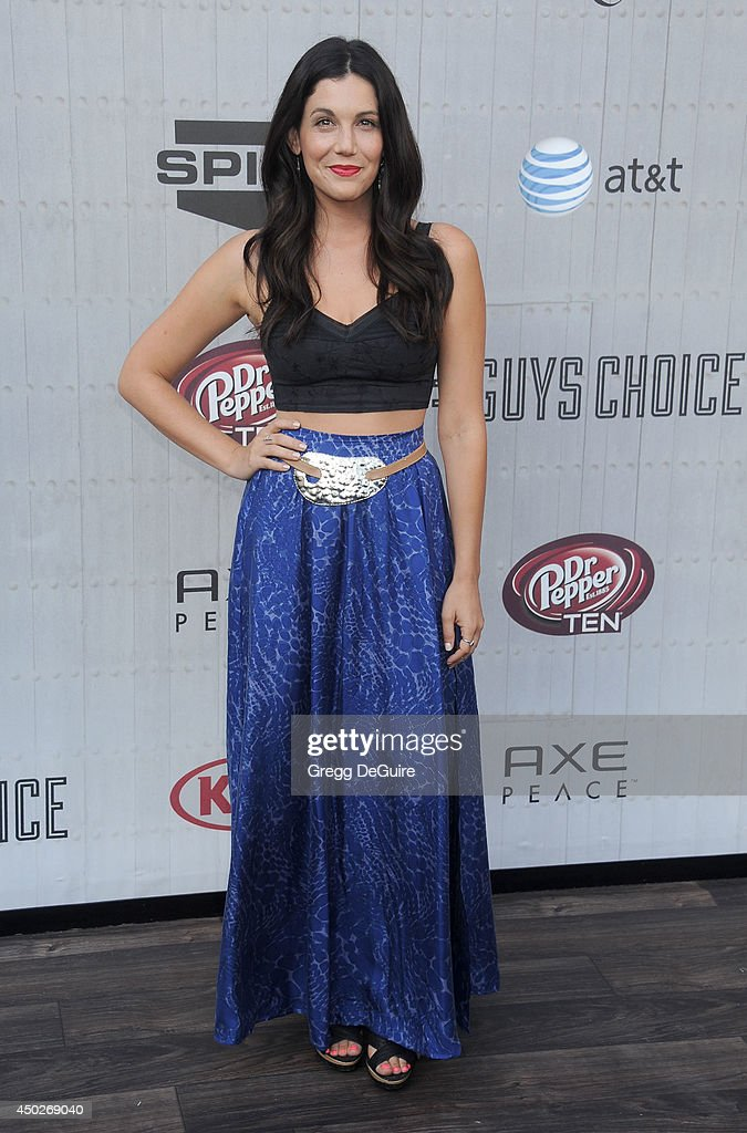 Jackie Tranchida arrives at Spike TV's 'Guys Choice' Awards at Sony Studios on June 7, 2014 in Los Angeles, California.