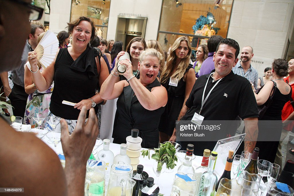 Jackie Weeman Rita Garces And Dominick Targia Attends The House Beautiful Magazine S Kitchen Of