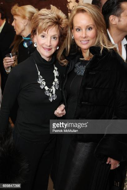 Jackie Weld and Yaz Hernandez attend Opening of IN STITCHES Curated by BETH RUDIN DeWOODY at Leila TaghiniaMilani Heller Gallery on November 12 2009...