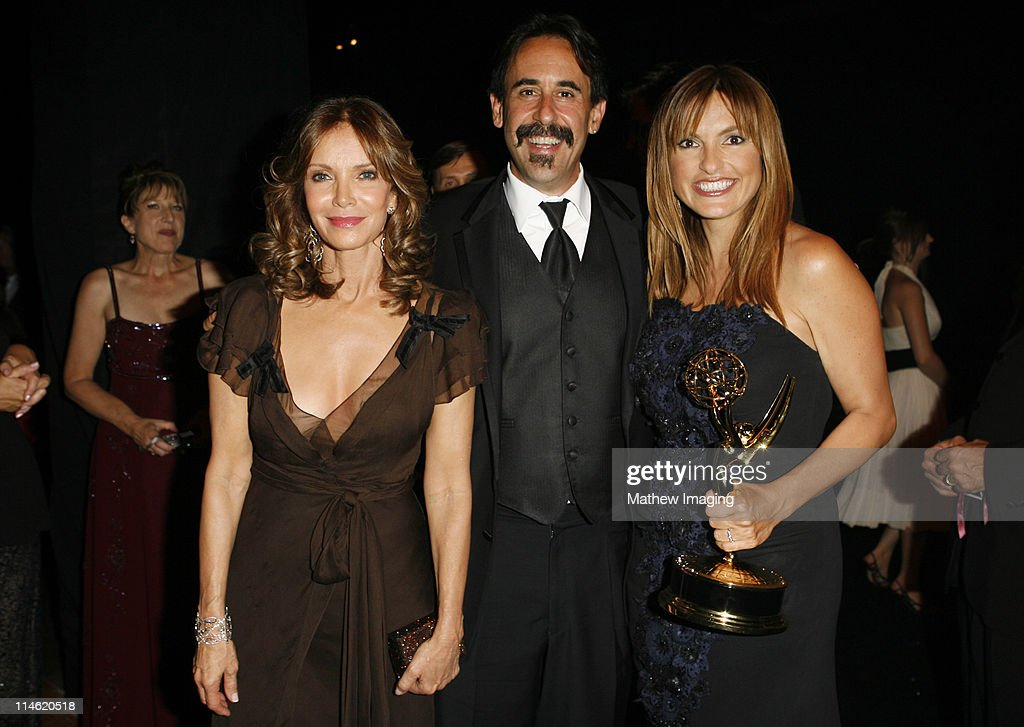Jacklyn Smith, guest and Mariska Hargitay, winner Outstanding Lead Actress in a Drama Series for 'Law & Order: Special Victims Unit'