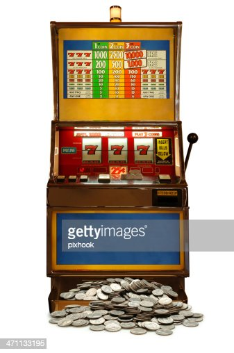 slot machine falling wheels