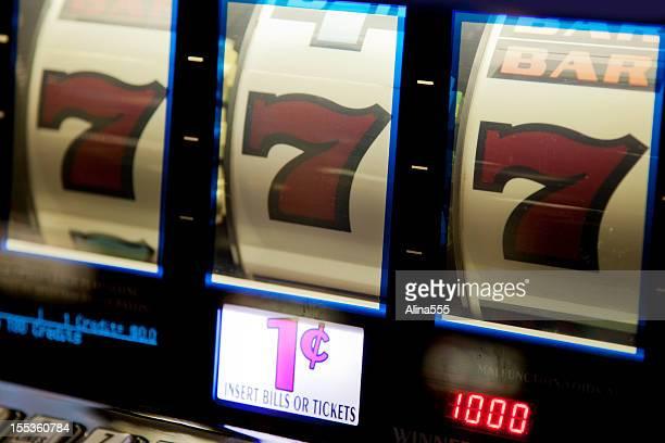 Jackpot;! Combinaison gagnante sur une machine à sous