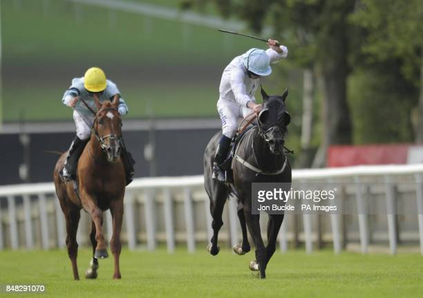 Jack's Revenge ridden by Ryan Moore and trained by George Baker wins the Newmarket Historic Home of Racing Handicap Stakes during Abu Dhabi Day of...