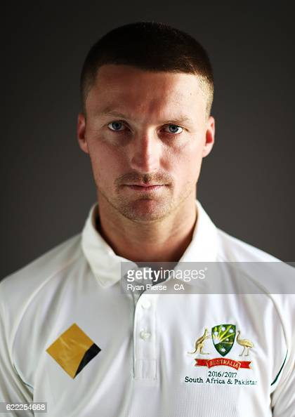 Jackson Bird of Australia poses during a Headshots session on November 11 2016 in Hobart Australia