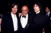 Jackson Browne Ahmet Ertegun and Peter Wolf during Ahmet Ertegun File Photos United States