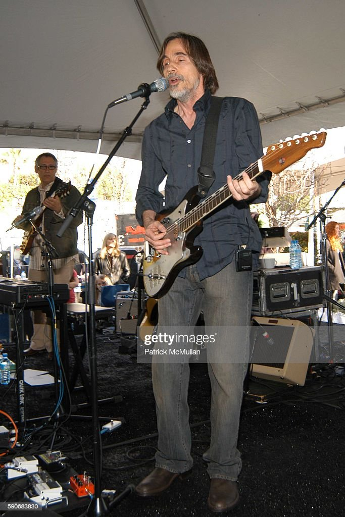 Jackson Browne attends John Varvatos' 3rd Annual Stuart House Charity Benefit at John Varvatos Boutique on March 5 2005 in West Hollywood California