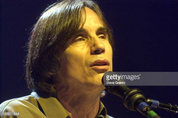 Jackson Browne during Jackson Browne in Concert Los Angeles at The Forum in Los Angeles California United States