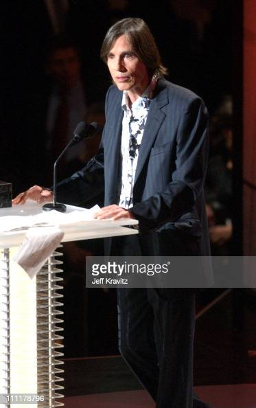 Jackson Browne during The 19th Annual Rock and Roll Hall of Fame Induction Ceremony Show at Waldorf Astoria in New York City New York United States