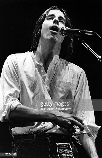 Jackson Browne performing at a 'Tribute to Lowell George' at the Forum on August 5th 1979 in Los Angles Califonia