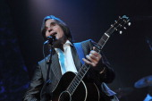 Jackson Browne performing at the We Are Family Foundation 8th Annual Celebration Gala at the Hammerstein Ballroom on October 26 2010 in New York City