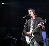 Jackson Browne performs at Day 2 of The Cornbury Music Festival at Cornbury Estate on July 4 2010 in Oxford England
