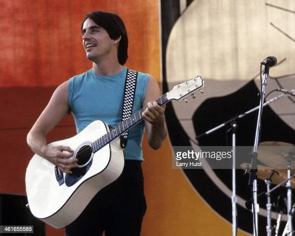 Jackson Browne performs at the 'US Festival' in Devore CA on May 28 1983