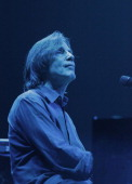 Jackson Browne performs during the Rock for Oklahoma Benefit at the Chesapeake Energy Arena on July 23 2013 in Oklahoma City Oklahoma