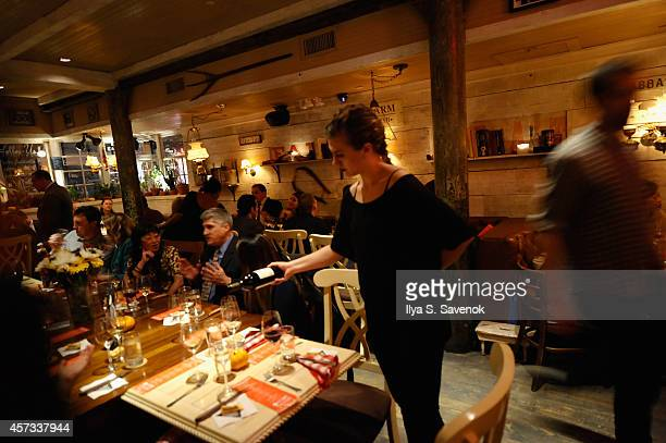 Jackson Family Wines and Riedel Crystal of America at Farm Country Flavors hosted by Justin Bogle as a part of the Bank of America Dinner Series...