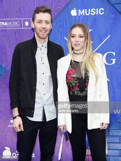 Jackson Foote and Emma Lov Block of Loote attend the Apple Music and KYGO 'Stole The Show' Documentary Film Premiere at The Metrograph on July 25...