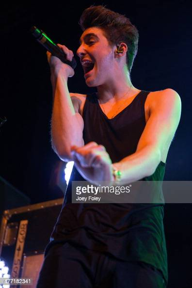 Jackson Guthy performs live onstage at Egyptian Room at Old National Centre on February 16 2014 in Indianapolis Indiana
