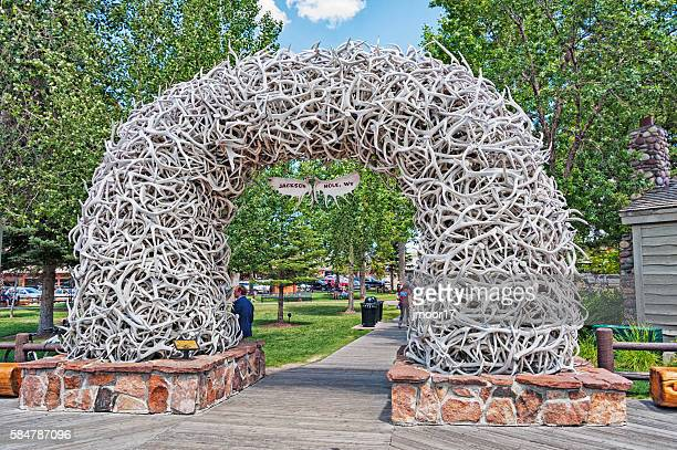 Jackson Hole Antler Arch