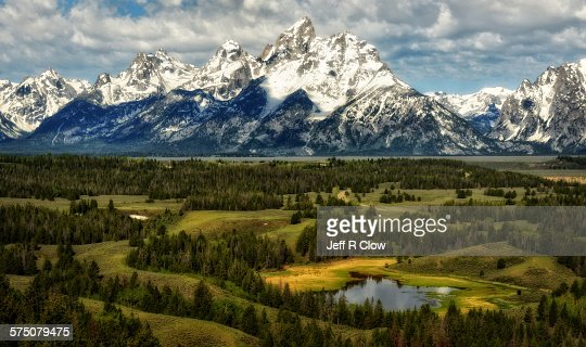 Jackson hole overlook