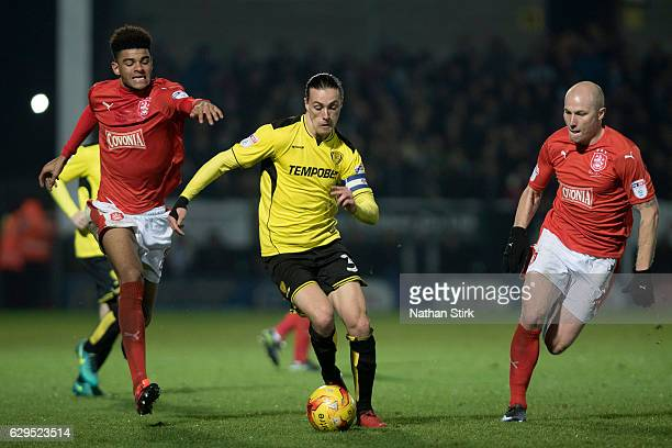 Jackson Irvine of Burton Albion and Philip Billing Aaron Mooy of Huddersfield Town in action during the Sky Bet Championship match between Burton...
