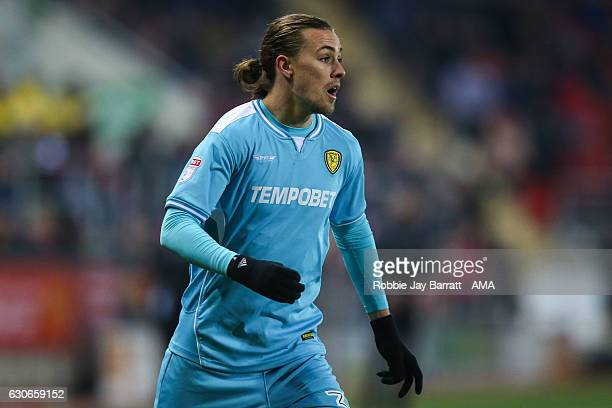 Jackson Irvine of Burton Albion during the Sky Bet Championship match between Rotherham United and Burton Albion at The New York Stadium on December...