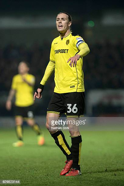 Jackson Irvine of Burton Albion looks on during the Sky Bet Championship match between Burton Albion and Huddersfield Town at Pirelli Stadium on...