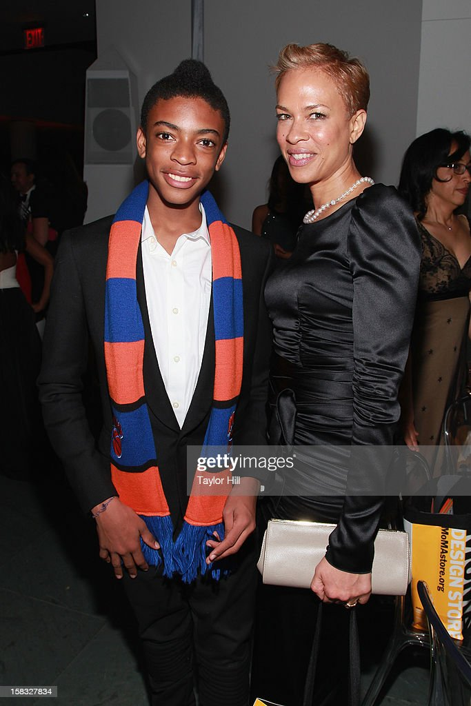 Jackson Lee and Tonya Lewis attend The Museum of Modern Art's Jazz Interlude Gala After Party at MOMA on December 12, 2012 in New York City.