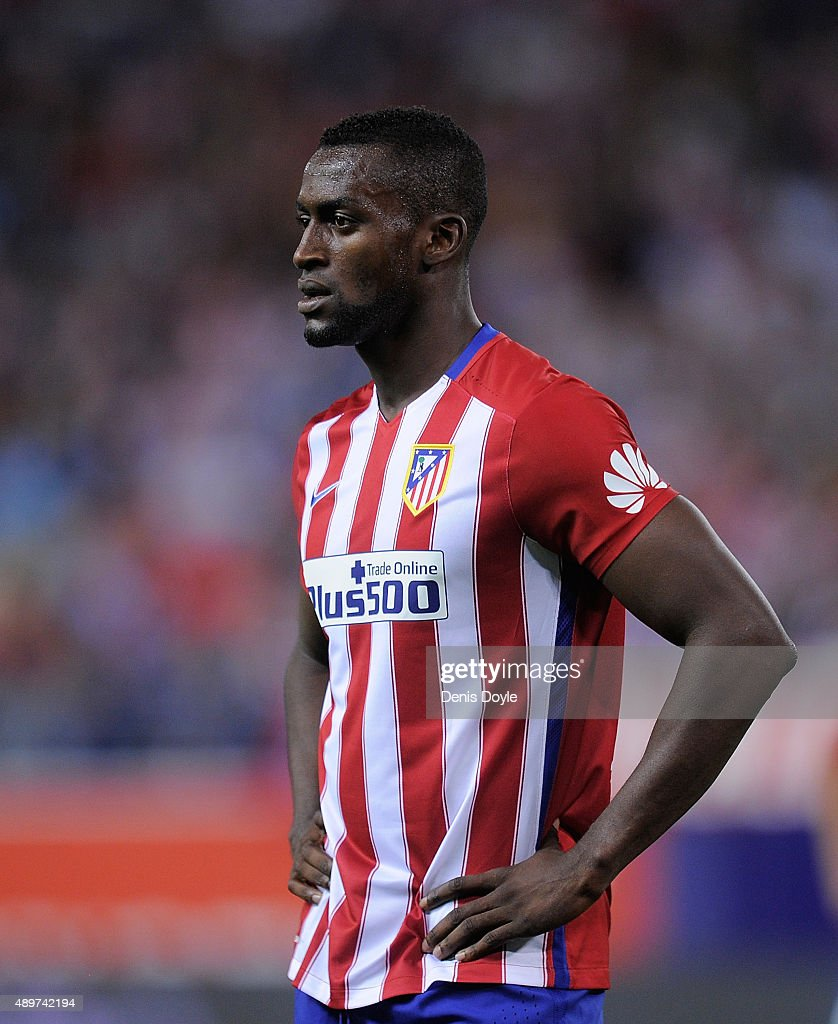 Jackson Martinez of Club Atletico de Madrid looks on during the La Liga match between Atletico de Madrid and Getafe at Vicente Calderon Stadium on September 22, 2015 in Madrid, Spain.