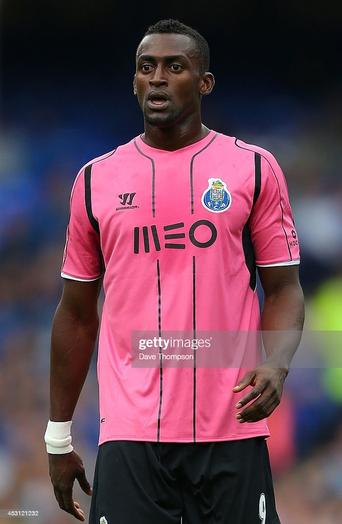Jackson Martinez of Porto during the Pre-Season Friendly between Everton and Porto at Goodison Park on August 3, 2014 in Liverpool, England.