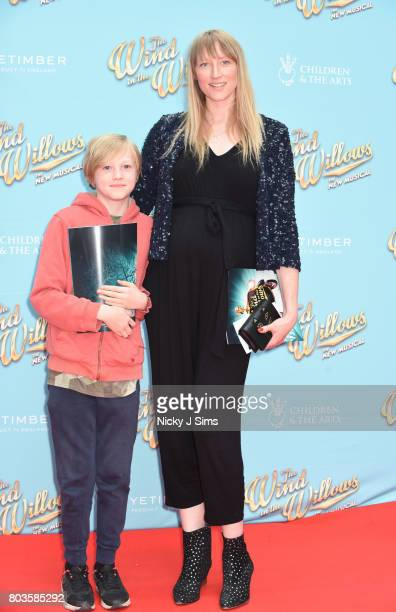 Jackson Parfitt and Jade Parfitt attend the Gala performance of Wind In The Willows at London Palladium on June 29 2017 in London England