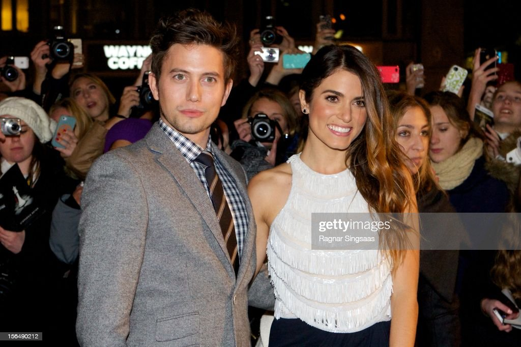 Jackson Rathbone and Nikki Reed attend the Norway Premiere of The Twilight Saga: Breaking Dawn Part 2 at Colosseum on November 15, 2012 in Oslo, Norway.