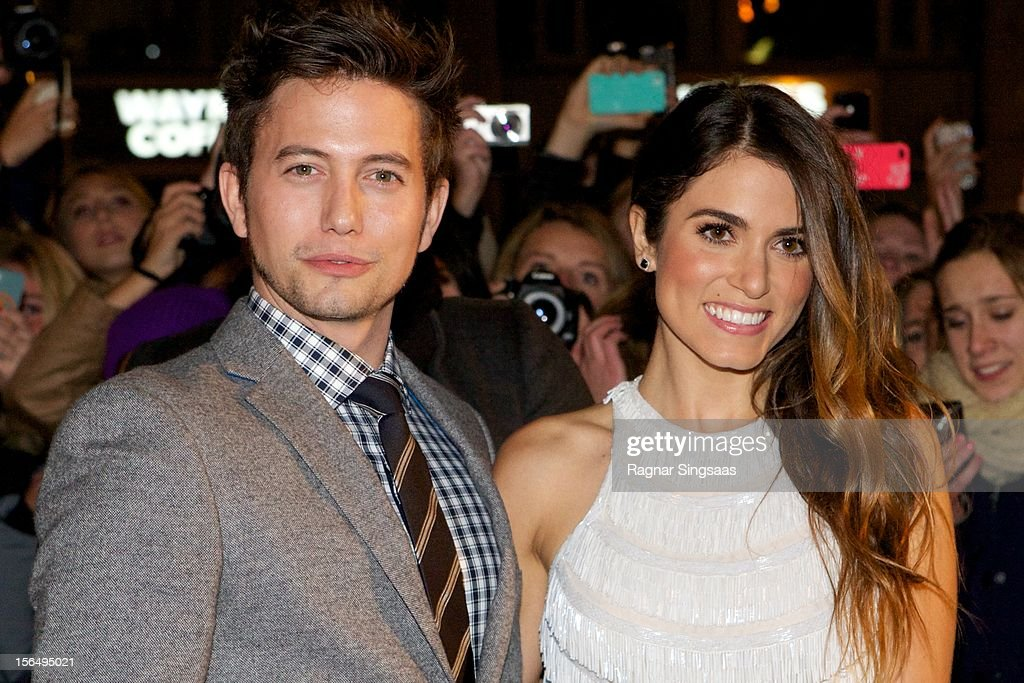 <a gi-track='captionPersonalityLinkClicked' href=/galleries/search?phrase=Jackson+Rathbone&family=editorial&specificpeople=4070053 ng-click='$event.stopPropagation()'>Jackson Rathbone</a> and <a gi-track='captionPersonalityLinkClicked' href=/galleries/search?phrase=Nikki+Reed&family=editorial&specificpeople=220844 ng-click='$event.stopPropagation()'>Nikki Reed</a> attend the Norway Premiere of The Twilight Saga: Breaking Dawn Part 2 at Colosseum on November 15, 2012 in Oslo, Norway.
