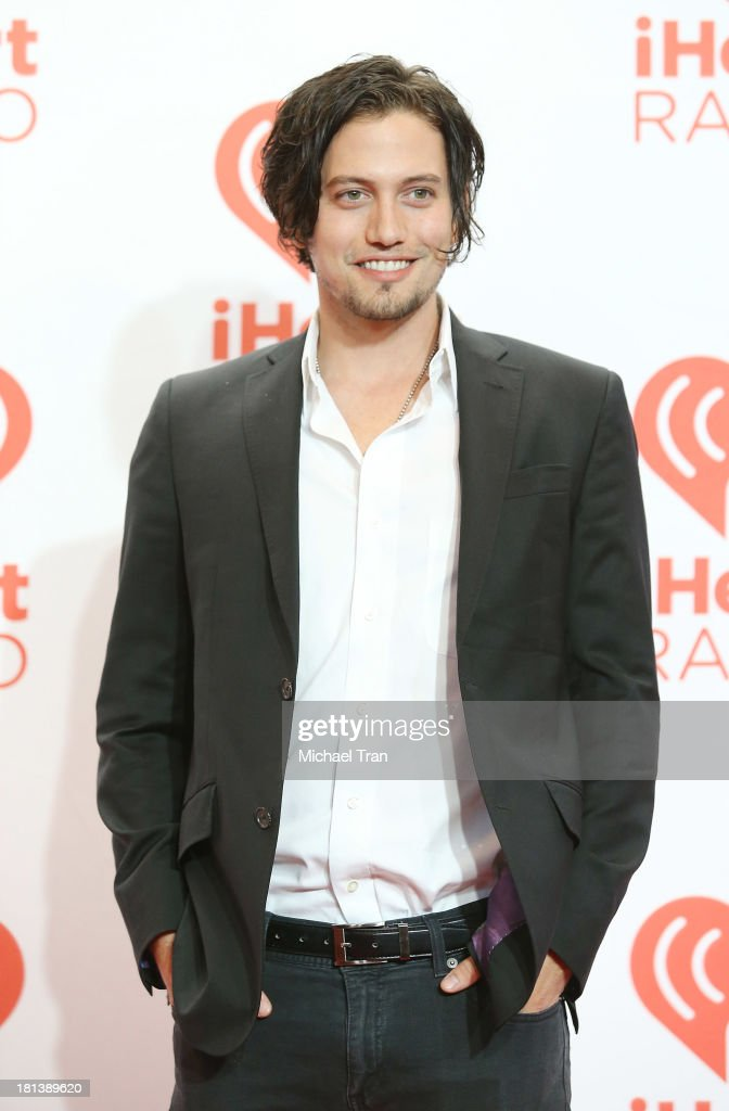 <a gi-track='captionPersonalityLinkClicked' href=/galleries/search?phrase=Jackson+Rathbone&family=editorial&specificpeople=4070053 ng-click='$event.stopPropagation()'>Jackson Rathbone</a> arrives at the iHeartRadio Music Festival - press room held at MGM Grand Arena on September 20, 2013 in Las Vegas, Nevada.
