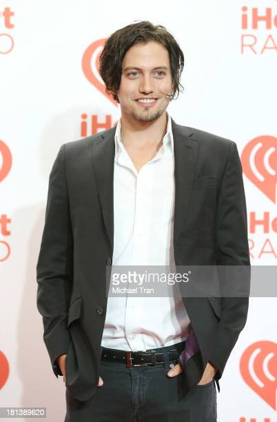 Jackson Rathbone arrives at the iHeartRadio Music Festival press room held at MGM Grand Arena on September 20 2013 in Las Vegas Nevada