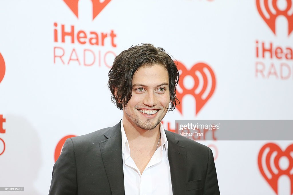 Jackson Rathbone arrives at the iHeartRadio Music Festival - press room held at MGM Grand Arena on September 20, 2013 in Las Vegas, Nevada.