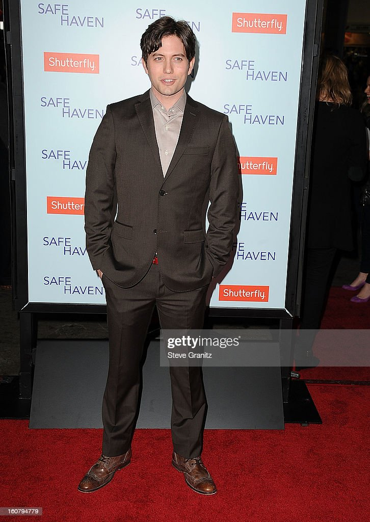 Jackson Rathbone arrives at the 'Safe Haven' - Los Angeles Premiere at TCL Chinese Theatre on February 5, 2013 in Hollywood, California.